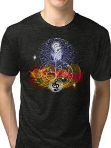 Music heals Tri-blend T-Shirt
