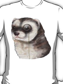 Ferret Monocle  T-Shirt