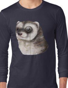 Ferret Monocle  Long Sleeve T-Shirt