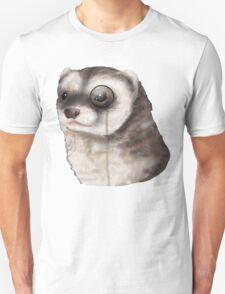 Ferret Monocle  Unisex T-Shirt