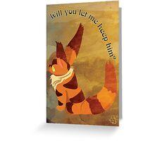 Teto Art Greeting Card