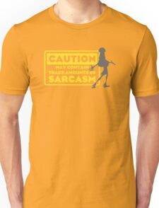 Human Kuzco - May Contain Trace Amounts of Sarcasm Unisex T-Shirt