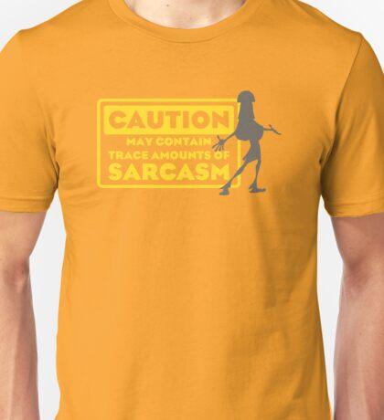 Human Kuzco - May Contain Trace Amounts of Sarcasm Unisex T-Shirt
