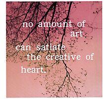 The Creative of Art Photographic Print