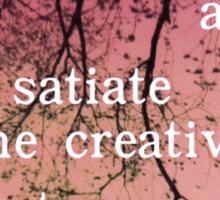 The Creative of Art Sticker