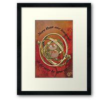 Timeturner : Harry Potter Framed Print