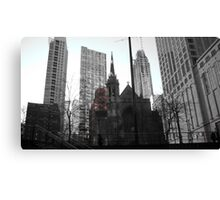 Gothic Chicago Canvas Print