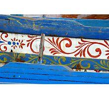 Vecchi legni decorati Photographic Print