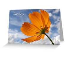 Reaching Greeting Card