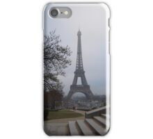 Eiffel Tower from the Stairs iPhone Case/Skin