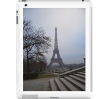 Eiffel Tower from the Stairs iPad Case/Skin