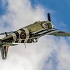 FM2 Wildcat V JV579/F G-RUMW inverted by Colin Smedley