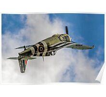 FM2 Wildcat V JV579/F G-RUMW inverted Poster
