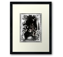 Flower Dress Series 1 - 1 Framed Print