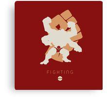 Pokemon Type - Fighting Canvas Print