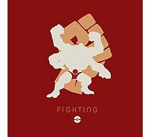 Pokemon Type - Fighting Photographic Print