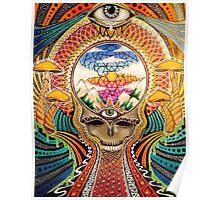 Psychedelic Grateful Dead Poster