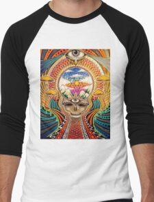 Psychedelic Grateful Dead Men's Baseball ¾ T-Shirt