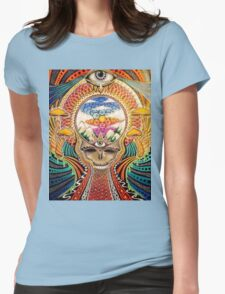 Psychedelic Grateful Dead Womens Fitted T-Shirt