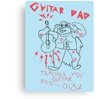 Steven Universe - Guitar Dad Canvas Print