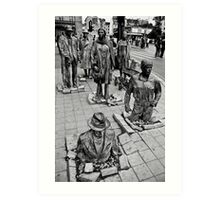 Anonymous Pedestrians 1 Art Print