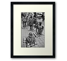 Anonymous Pedestrians 1 Framed Print