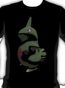 Pokémon: Larvitar - Abstract T-Shirt