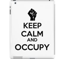 Keep Calm and Occupy iPad Case/Skin