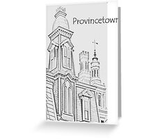 Provincetown Towers T-shirt Greeting Card