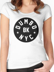 DUMBO, Brooklyn - NYC Women's Fitted Scoop T-Shirt