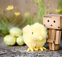 Danbo's first easter... by Natalia Campbell