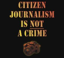 Citizen Journalism is NOT a crime Kids Clothes