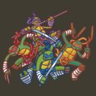 cartoon turtles by Fuacka