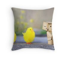the golden egg... Throw Pillow