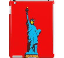 Planet of the Apes, statue of Liberty iPad Case/Skin