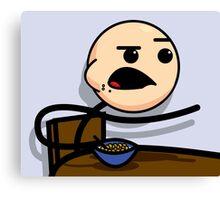 Cereal Guy - Meme Canvas Print
