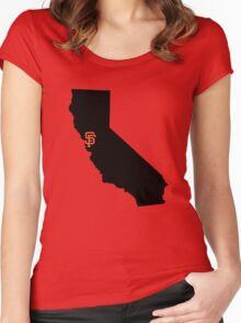 San Francisco Giants - California Women's Fitted Scoop T-Shirt