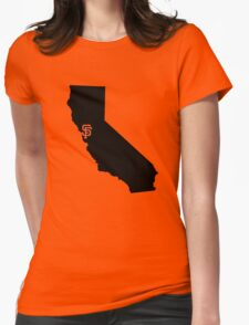 San Francisco Giants - California Womens Fitted T-Shirt