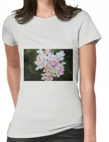 Bicolor Azaleas Womens Fitted T-Shirt