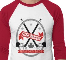 ToxicAmour Hockey Men's Baseball ¾ T-Shirt