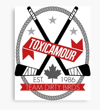 ToxicAmour Hockey Canvas Print