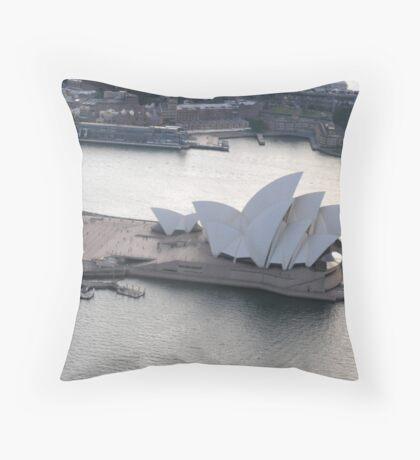 10 sails Throw Pillow