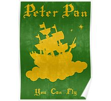 Peter Pan Minimalist Poster Poster