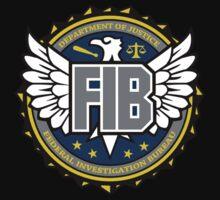 FIB - Federal Investigation Bureau Kids Clothes