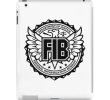 FIB - Federal Investigation Bureau iPad Case/Skin