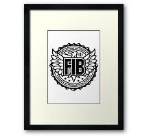 FIB - Federal Investigation Bureau Framed Print