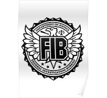 FIB - Federal Investigation Bureau Poster