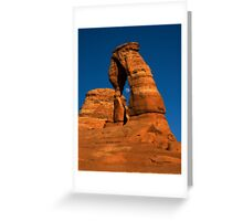 Moonrise in Delicate Arch Greeting Card