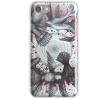 world wind of love birds iPhone Case/Skin