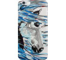 Like The Wind - Horse Art by Valentina Miletic iPhone Case/Skin